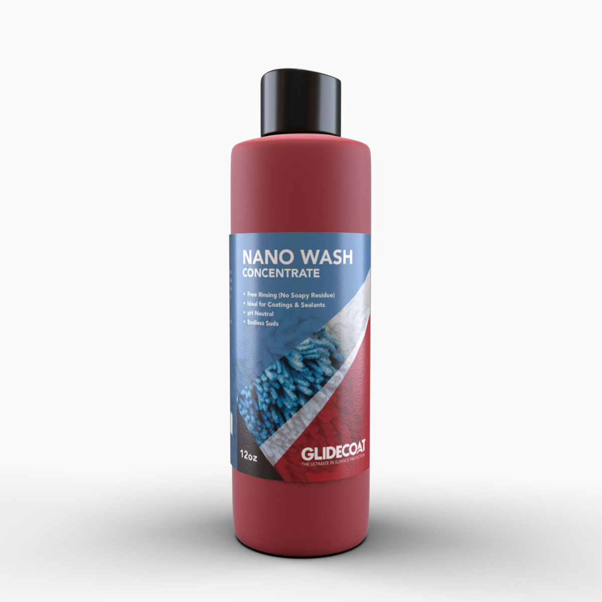 12 oz bottle of Glidecoat Nano Wash