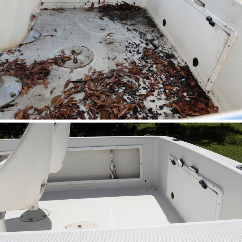 of Ranger to show the professional work by Glidecoat boat detailers