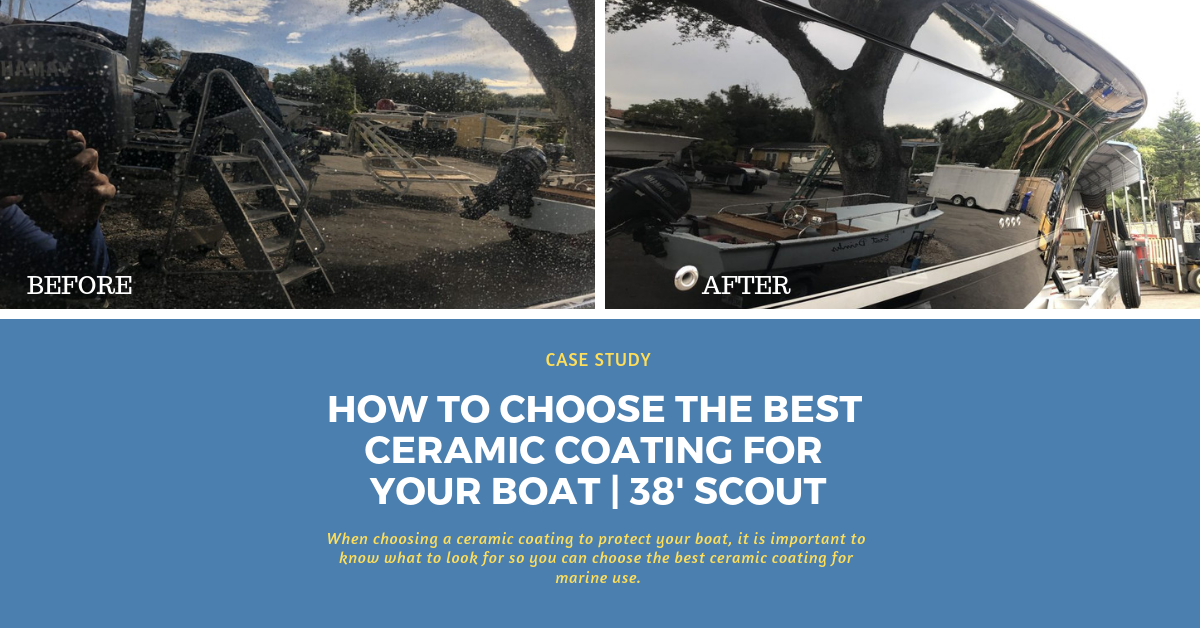 How to Choose the Best Ceramic Coating for your Boat | Beautiful